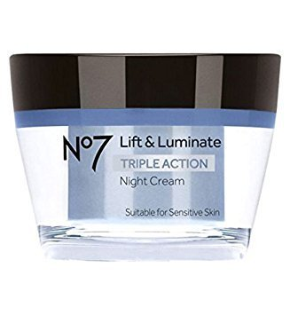 (No7 Lift & Luminate Triple Action Night Cream 50ml)