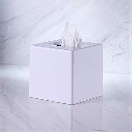 Awesome Vinn Dunn Bespoke Cube Tissue Dispenser White Square Tissue Box Cover Holder Kleenex Napkin Holder Bathroom Organizer Stand Plastic Abs Home Remodeling Inspirations Genioncuboardxyz