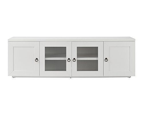 Whalen Furniture 72″ Tv Console, Pure White