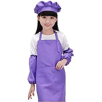 Amazoncom Dadidyc Kid Aprons For Paintingchildrens Apron Cooking