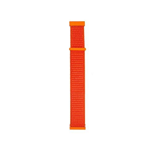 for Ticwatch pro Watch Band,salaheiyodd Fashion Elegant Comfortable Nylon Weave Band Wrist Strap 22mm Replacement Band Strap for Ticwatch pro Women Men (Orange) - Ladies Pro Weave Fashion