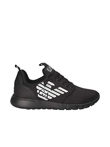 Da Uomo Scarpe Ea7 00002 Black RifX8x008 Ecopelle Sneaker Armani Xk008 Nero Emporio VMzpGqSU