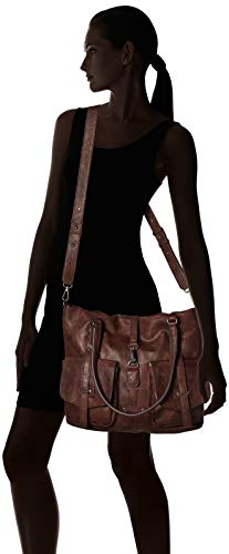 A T Bernadette Secchiello X Marrone 0x36 Donna Cm 0 b dark 0x12 Borse 30 H Brown braun 5aaWqg1