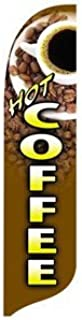 product image for 2' x 11' Coffee Quill Feather Flag Kit
