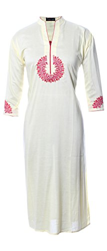 AzraJamil-Charming-Cotton-Embroidered-Kurta-Navy-Blue