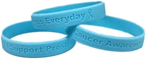 25 Light Blue Prostate Cancer Awareness