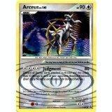 Pokemon Platinum Arceus Lv. 100 DP50 Promo Card