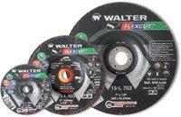 - Walter 15L703 7X7/8 Flexcut Premium Spin-On Wheels Type 29, 36 Grit|Pk
