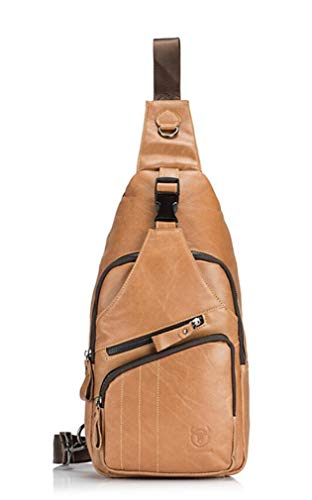 her Shoulder Bage Messenger Bag Brifcase Stylish Crossbody Bag(Brown) ()