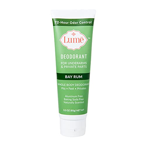 Lume Deodorant For Underarms & Private Parts 3oz Tube