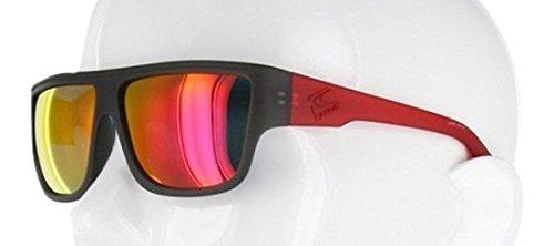 Carve Crew Sonnenbrille Black/Red Revo