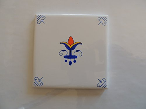 Roza Blue And White Delft Blue Style Dutch Tiles