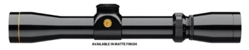 Leupold 113872 VX-1 Rimfire Scope with Fine Duplex Reticle, Matte Black Finish