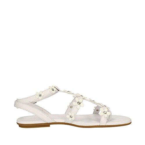 de pour string Blanc Chaussures noir 7158 INUOVO femme sandales 1ZqwIqv