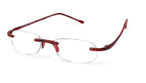 Scojo Reading Glasses Flame Magnification