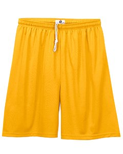 (Badger BD2107 Youth B-Core 6 in. Performance Short, Gold, Large)