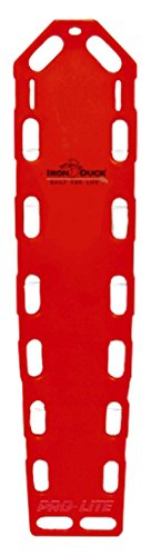 iron-duck-35717-p-red-pro-lite-xt-spinal-immobilization-backboard-with-speed-clip-pins