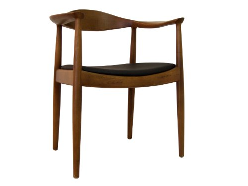 Ash Walnut Chair - Control Brand DC604BROWN The Kennedy Chair In Walnut Finish Solid Ash Timber