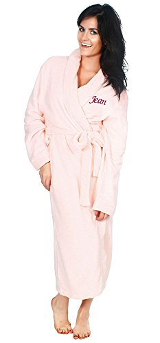 Embroidered Bath Robe - 4