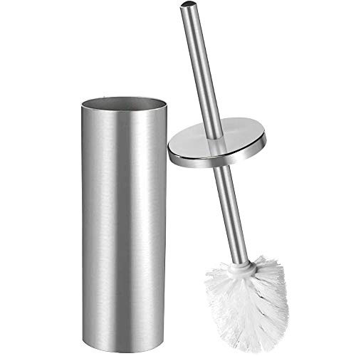 rush Holder,Stainless Steel Hideway Stand 15 Inch High,3.5 Diameter,Brushed Nickel SS202-3 ()