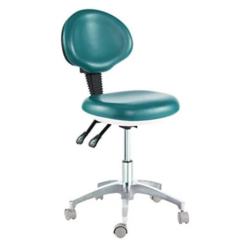 Dental Mobile Chair Doctor's Stool PU Leather Dentist Seat Height Adjustment CE from Purple-Violet