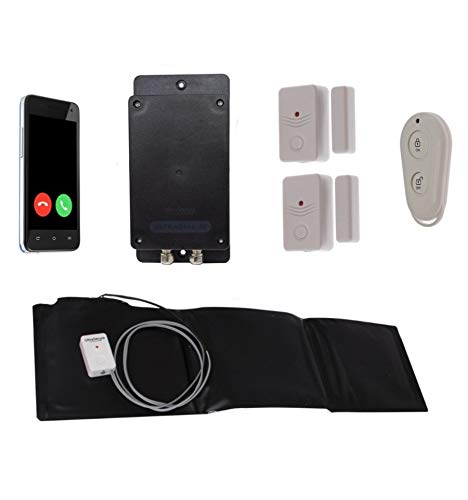 Covert Battery Silent 3G GSM Ultradial Door & Pressure Mat Alarm (No Sim Card)