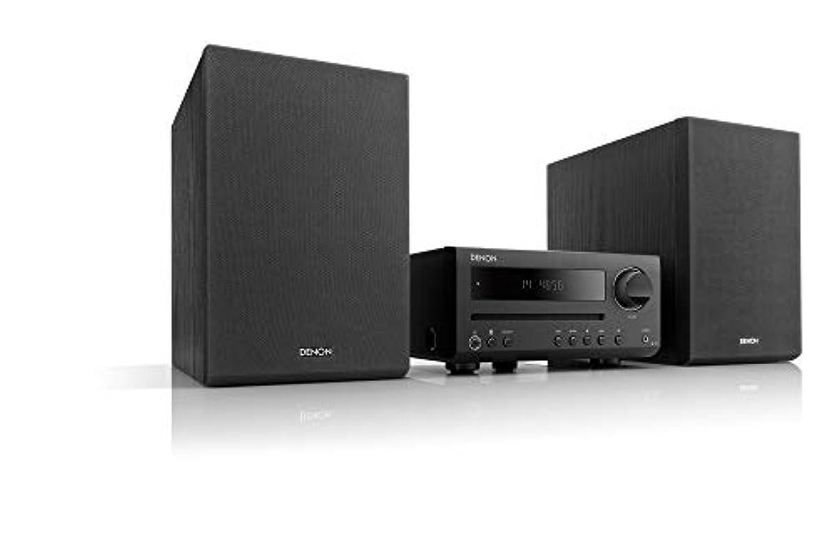 [해외] 데 노 DENON D-T1 CD리쉐이버 시스템 CD/FM/AM라디오/BLUETOOTH대응 블랙 D-T1K