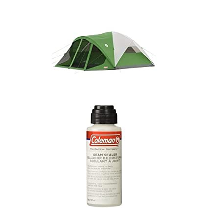 Coleman Evanston 8-Person Tent with Screen Room with Seam Sealer 2-oz  sc 1 st  Amazon.com & Amazon.com : Coleman Evanston 8-Person Tent with Screen Room with ...