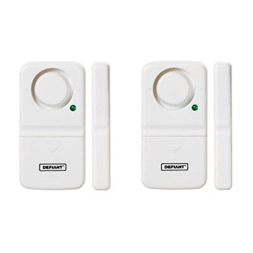 Cheap Defiant Home Security Door/Window Alarm (2-Pack)