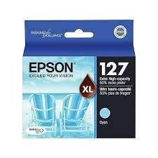 Epson Brand Name Hi-Cap Cyan Inkjet Cartridge 755 YLD T127220 ()