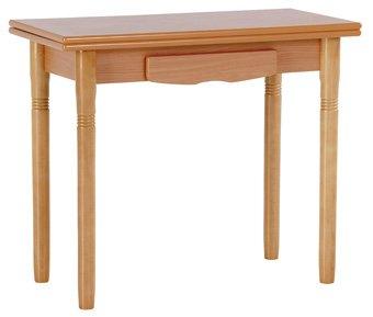 Mesa de cocina modelo Valladolid, rectangular, de libro ...