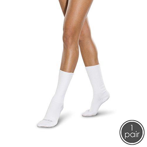 Sock Cocoon (SmartKnitBigKIDS Seamless Sensitivity Socks (White, Large))
