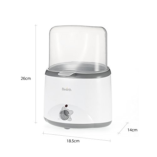 Double Baby Bottle Warmer Safe BPA-Free Multifunctional Milk Heater Sterilizer