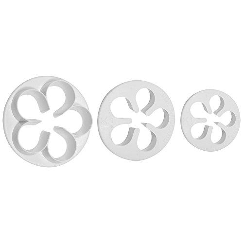 PME Cutters, 5 Petal, 3-Pack