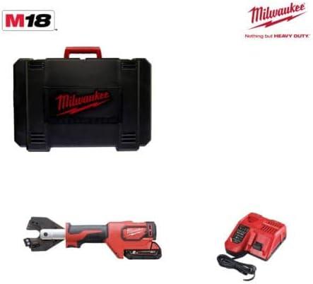 chargeur 4933464304 1 batterie 18V 2,0Ah Coupe c/âble hydraulique MILWAUKEE ForceLogic M18 ONEHCC-201C ACSR SET
