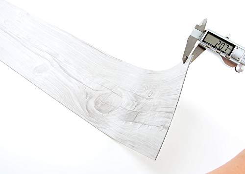 ROSEROSA Peel and Stick Engineered PVC Plank Wood Pattern