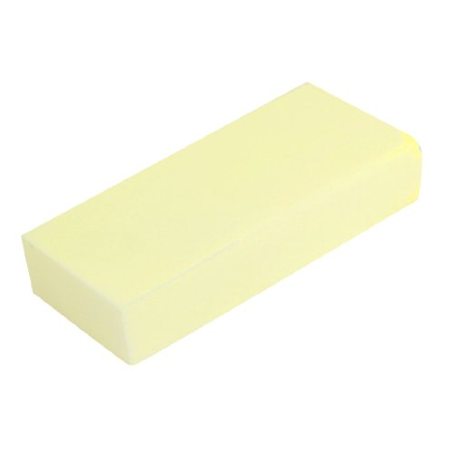 uxcell a13082900ux0689 Vehicle Boat Cleaning PVA Suction Sponge Block Yellow 17cmx7.5cmx3.5cm