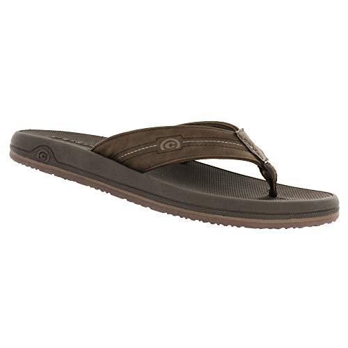 - Cobian Men's OTG Flip-Flop, Brown, 13 M US