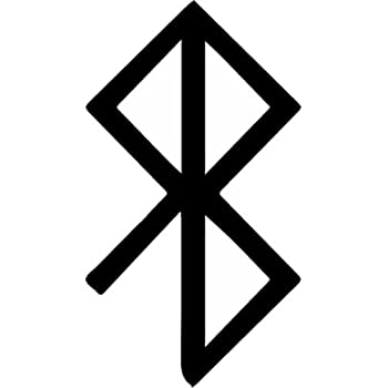 Amazon Peace Viking Rune Symbol Vinyl Window Decal Rune