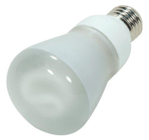 Satco S7256 11-Watt Medium Base R20 Reflector, 5000K, 120V, Equivalent to 40-Watt Incandescent Lamp