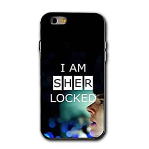 ZL I Am Sher Locked Theme Design Plastic Hard Case for iPhone 6