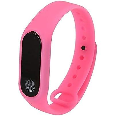 DMMDHR Smart Band Waterproof Band Heart Rate Monitor Bluetooth Smart Bracelet Sleep Fitness Tracker Pedometer Wristband Estimated Price £25.38 -