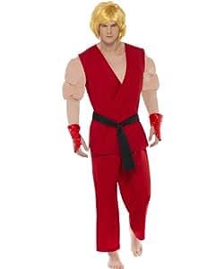 Disfraz de Ken de Street Fighter IV para hombre
