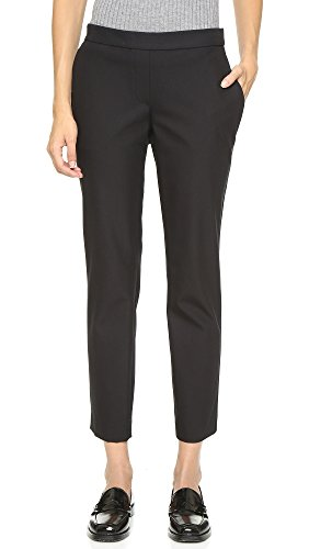 Theory Women's Approach Thaniel Pants, Black, 10 by Theory