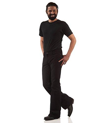 Jeans Uomo Nero Boot Comycom Cut fqgHOp