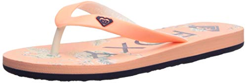 Roxy Girl's RG Tahiti Sandal Flip-Flop , Peach Cream  , 2 , Peach Cream 3 , 2 ()
