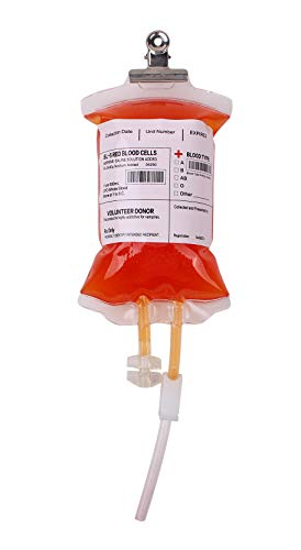 SMAZ LIFE Blood Bags for Drinks -Novelty Item