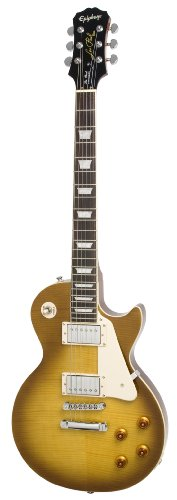 Epiphone Les Paul Standard Plus-Top Electric Guitar, Honeyburst