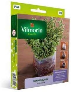 Mini jardín - Mejorana - set de inicio para cultivo en interiores - 6500 semillas: Amazon.es: Jardín