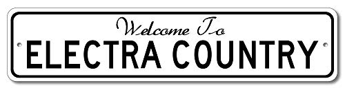Buick Electra - Welcome to Car Country Sign - Aluminum 4